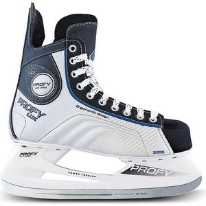 Хоккейные коньки CK PROFY LUX 3000 CK - IS000067 - Синий (47) цена