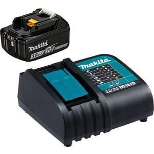 Аккумулятор и зарядное устройство Makita DC18SD-+BL1830B, 18В, 3.0Ач, Li-ion