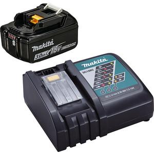 Аккумулятор и зарядное устройство Makita DC18RC+BL1830B, 18В, 3.0Ач, Li-ion