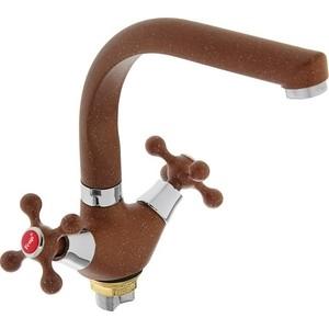 Смеситель для кухни Frap Н5408 коричневый (F5408-22)
