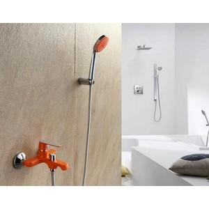 Смеситель для ванны Frap Н32 оранжевый (F3232)