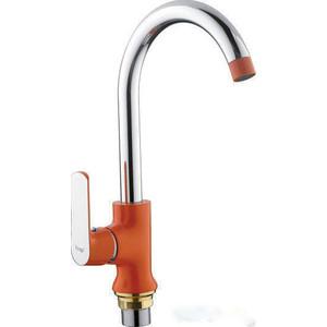 Смеситель для кухни Frap Н32 оранжевый (F4032)