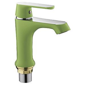 Смеситель для раковины Frap Н33 зеленый (F1033)