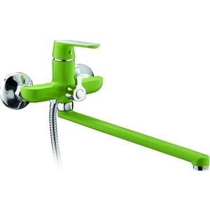 Смеситель для ванны Frap Н33 зеленый (F2233)