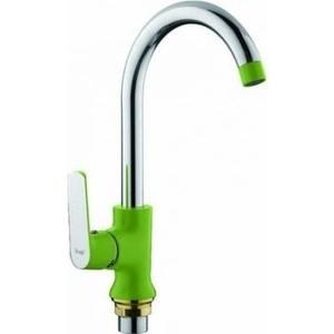 Смеситель для кухни Frap Н33 зеленый (F4033)