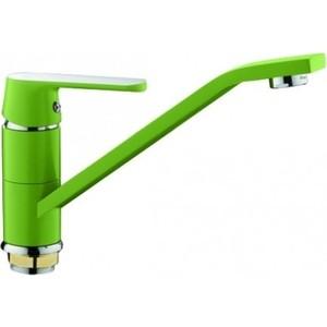 Смеситель для кухни Frap Н33 зеленый (F4933)