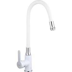 Смеситель для кухни Frap Н41 белый (F4041)