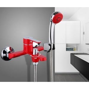 Смеситель для ванны Frap Н43 красный (F3243)