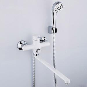 Смеситель для ванны Frap Н44-8 белый (F2244-8)