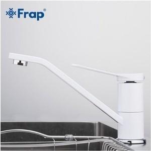 Смеситель для кухни Frap Н45 белый (F4945)