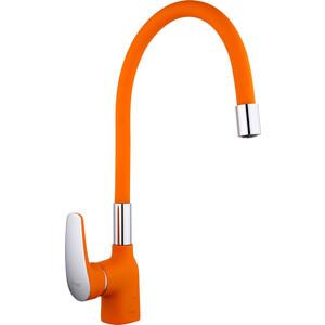 Смеситель для кухни Frap оранжевый (F4453-02)
