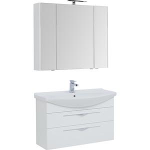 Мебель для ванной Aquanet Ирвин 105 белая