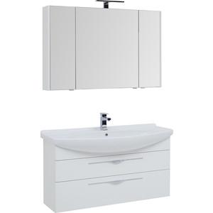 Мебель для ванной Aquanet Ирвин 120 белая