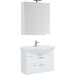 Мебель для ванной Aquanet Ирвин 85 белая