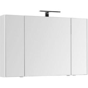 Зеркальный шкаф Aquanet Орлеан 120 белый (203976)