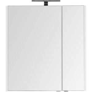 Зеркальный шкаф Aquanet Орлеан 75 белый (203979)