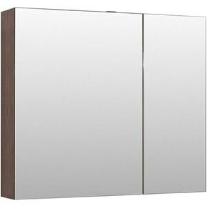 Зеркальный шкаф Aquanet Нью-Йорк 100 орех (203955)