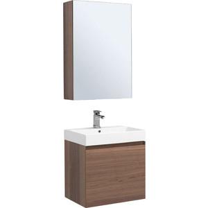 Мебель для ванной Aquanet Нью-Йорк 60 орех фото