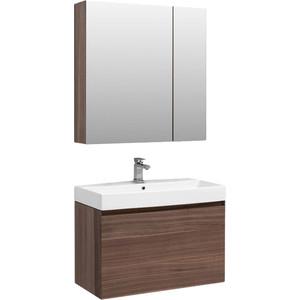 Мебель для ванной Aquanet Нью-Йорк 85 орех