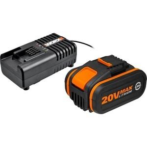 Комплект Аккумулятор и ЗУ Worx WA3604 аккумулятор