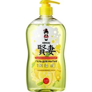 Средство для мытья посуды и фруктов KENSAI с ароматом Японского лимона, 540 мл