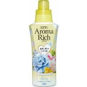 Кондиционер для белья Lion Aroma Rich Fairy с ароматом ландыша и фруктов, флакон 550 мл