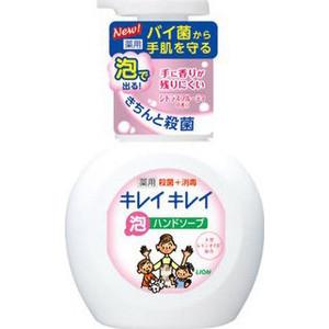 Пенное мыло Lion Kirei с ароматом цитрусовых фруктов, флакон-дозатор 250 мл