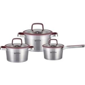 Набор посуды 6 предметов Eurostek (ES-1205)