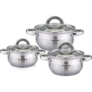 Набор посуды 6 предметов Eurostek (ES-1209)