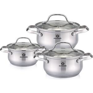 Набор посуды 6 предметов Eurostek (ES-1214)
