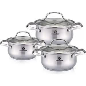 Набор посуды 6 предметов Eurostek (ES-1215)