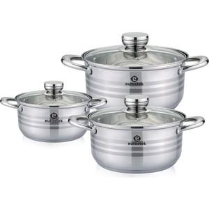 Набор посуды 6 предметов Eurostek (ES-1216)