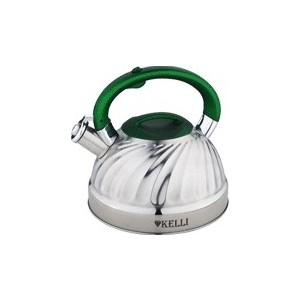 Чайник 3 л Kelli (KL-4507 зелен)