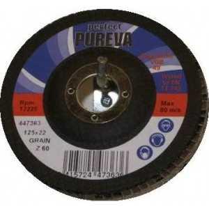 Круг лепестковый торцевой PUREVA 180х22.2мм К60 (447563)