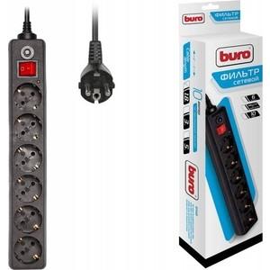 Фото - Сетевой фильтр Buro 600SH-1.8-B 1.8м (6 розеток) черный сетевой фильтр buro 800sh 5 b 5м 8 розеток черный