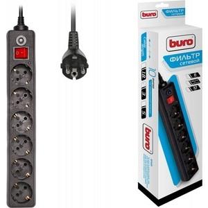 Фото - Сетевой фильтр Buro 600SH-3-B 3м (6 розеток) черный сетевой фильтр buro 500sh 3 sw b 3м 5 розеток черный