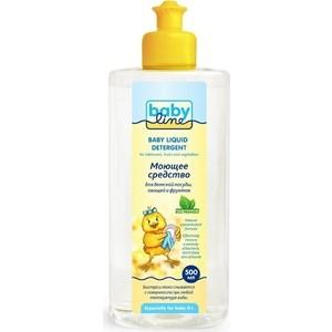 Средство для мытья посуды и фруктов BabyLine 500 мл (537166) средство для мытья посуды с апельсином 500 мл sodasan