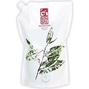 Средство для мытья посуды и фруктов BONSAI мультигель с ароматом зеленого чая, концентрат (запасной блок) 800 мл
