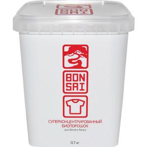 Стиральный БИОпорошок BONSAI для белого белья, концентрат 700 г