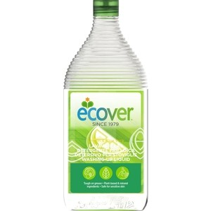 Жидкое средство ECOVER для мытья посуды с лимоном и алоэ-вера, экологичная 450 мл
