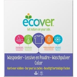 Стиральный порошок ECOVER для цветного белья, концентрат, эко 3 кг стиральный порошок molecola для белого и цветного детского белья экологичный 1 2 кг