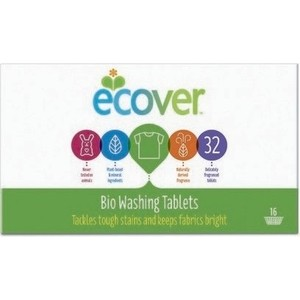 Таблетки для стирки ECOVER экологичные, 32 шт 950 г