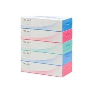 Салфетки бумажные IDESHIGYO PALNAP 2 слоя 200 шт, 1 коробка цвет в ассортименте