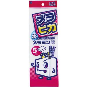 Губка Kokubo меламиновая для удаления налета и загрязнений, 335х110х20мм, 5 шт