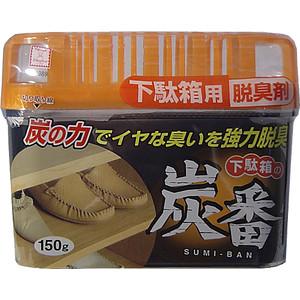 Дезодорант-поглотитель неприятных запахов Kokubo с древесным углем, для обувных шкафов 150 г
