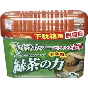 Дезодорант-поглотитель неприятных запахов Kokubo экстракт зеленого чая, для обувных шкафов 150 г