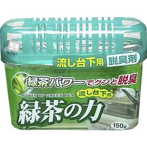 Дезодорант-поглотитель неприятных запахов Kokubo экстракт зеленого чая, под раковину 150 г