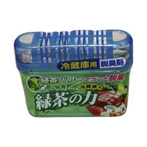 Дезодорант-поглотитель неприятных запахов Kokubo экстракт зеленого чая, для холодильника (общая камера)150г