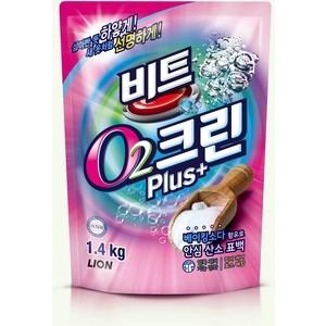 Отбеливатель Lion Clean Plus кислородный мягкая упаковка 1,4 кг