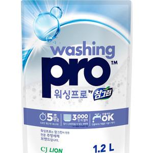 Средство для мытья посуды Lion Washing Pro, мягкая упаковка 1,2 л